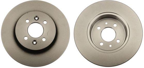 TRW  DF4691 Bremsscheibe Bremsscheibendicke: 12mm, Lochanzahl: 4, Ø: 280mm