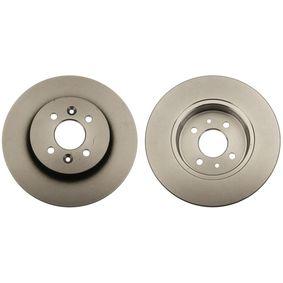 Bremsscheibe Bremsscheibendicke: 12mm, Lochanzahl: 4, Ø: 280mm mit OEM-Nummer 77 01 207 227