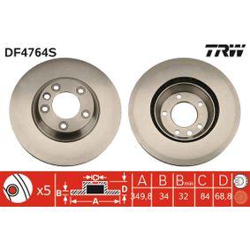 Bremsscheibe Art. Nr. DF4764S 120,00€