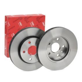 Bremsscheibe Bremsscheibendicke: 30mm, Lochanzahl: 5, Ø: 296mm mit OEM-Nummer 5 69 078