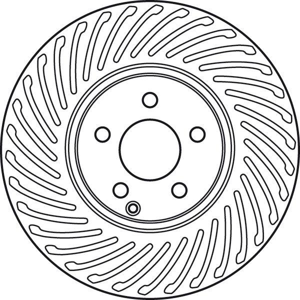 Brake Rotors TRW DF6012S rating