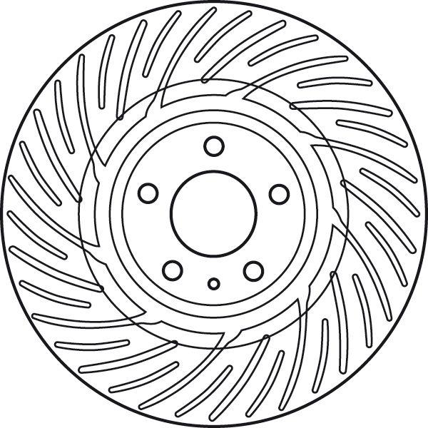 Brake Rotors TRW DF6014S rating