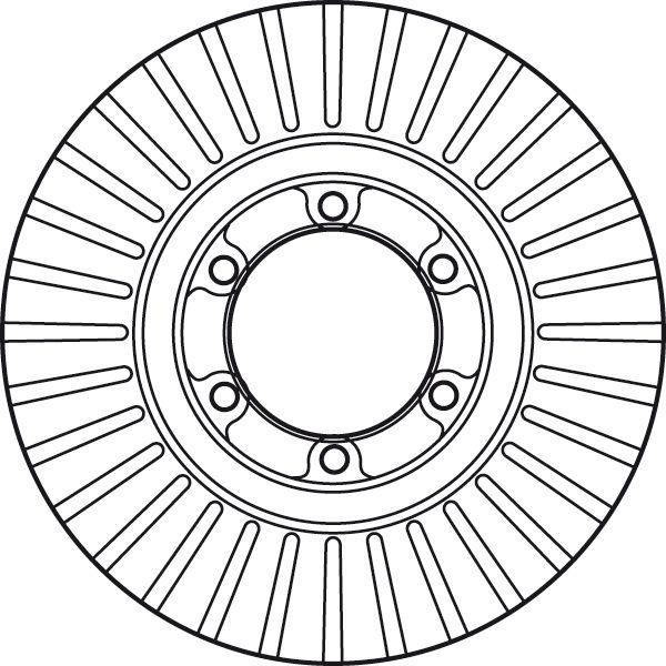 Brake Rotors TRW DF6022 rating