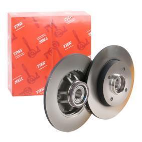 Bremsscheibe Bremsscheibendicke: 9mm, Lochanzahl: 4, Ø: 249mm mit OEM-Nummer 4249-66