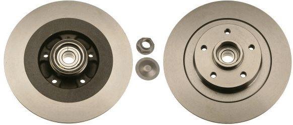 Bremsscheiben DF6044BS TRW DF6044BS in Original Qualität