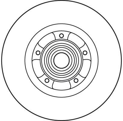 Scheibenbremsen TRW DF6044BS Bewertung