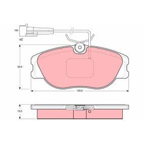Bremsbelagsatz, Scheibenbremse Art. Nr. GDB1058 120,00€