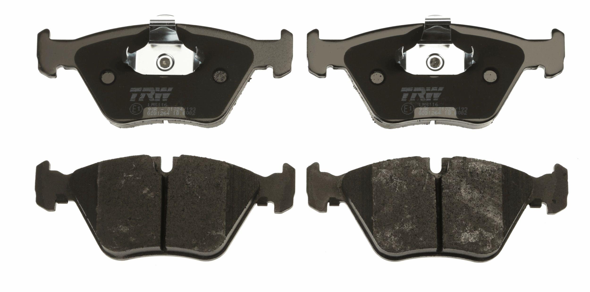 Bremsbelagsatz TRW GDB1264 Bewertung