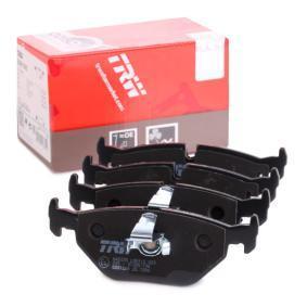 Bremsbelagsatz, Scheibenbremse Höhe: 44,9mm, Dicke/Stärke: 17mm mit OEM-Nummer 34216761281