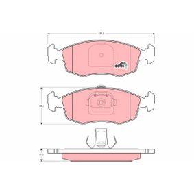 Bremsbelagsatz, Scheibenbremse Höhe: 52,5mm, Dicke/Stärke: 17,8mm mit OEM-Nummer 9 948 131