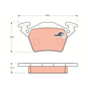 Bremsbelagsatz, Scheibenbremse Höhe: 52,8mm, Dicke/Stärke: 17,8mm mit OEM-Nummer A000 421 4210