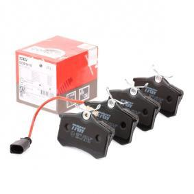 Bremsbelagsatz, Scheibenbremse Höhe: 52,9mm, Dicke/Stärke: 17mm mit OEM-Nummer 1 343 513