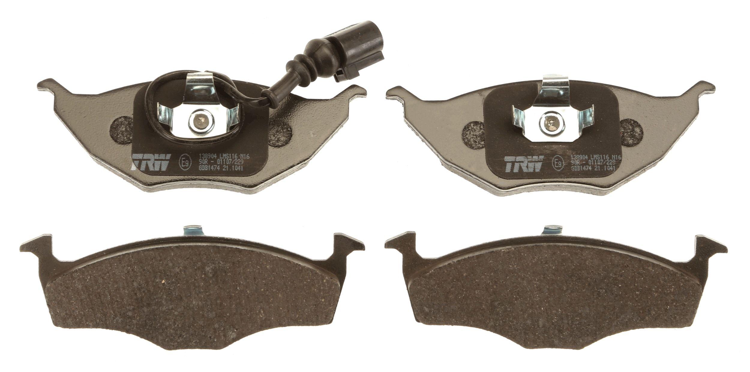 Disk brake pads TRW 23394 rating