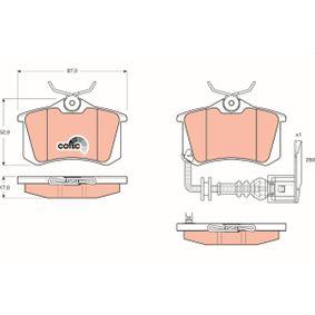 Brake Pad Set, disc brake Article № GDB1475 £ 150,00