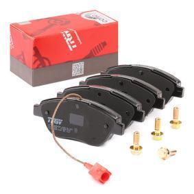Bremsbelagsatz, Scheibenbremse Breite 1: 136,8mm, Höhe 1: 57,9mm, Dicke/Stärke 1: 18,3mm mit OEM-Nummer 77362712