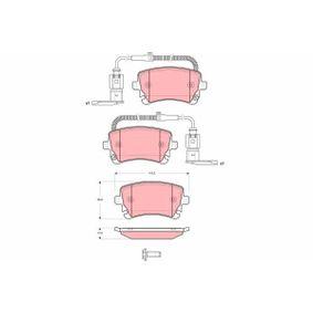 Bremsbelagsatz, Scheibenbremse Höhe: 59,0mm, Dicke/Stärke: 17,5mm mit OEM-Nummer 3D0.698.451