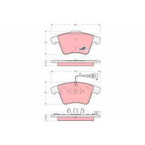 Bremsbelagsatz, Scheibenbremse Art. Nr. GDB1556 120,00€