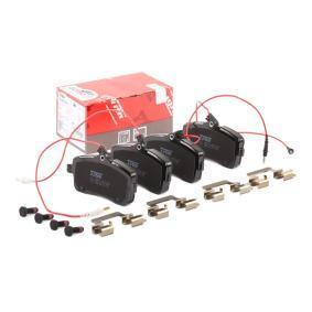 Bremsbelagsatz, Scheibenbremse Höhe: 66,8mm, Dicke/Stärke: 19,5mm mit OEM-Nummer 4254 22