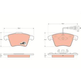 Bremsbelagsatz, Scheibenbremse Art. Nr. GDB1651 120,00€
