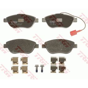 Bremsbelagsatz, Scheibenbremse Höhe: 57,5mm, Dicke/Stärke: 19,0mm mit OEM-Nummer 95 515 027