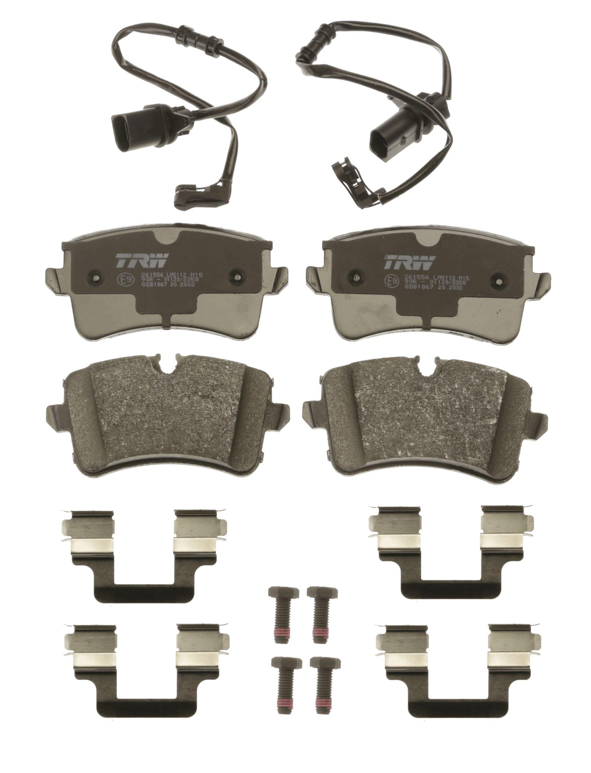 Bremsbelagsatz TRW GDB1867 Bewertung