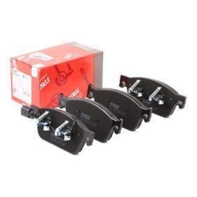 Bremsbelagsatz, Scheibenbremse Höhe: 75,0mm, Dicke/Stärke: 18,0mm mit OEM-Nummer 7E0.698.151