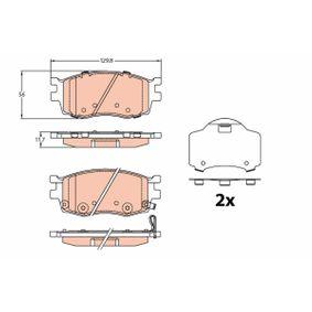 Bremsbelagsatz, Scheibenbremse Art. Nr. GDB3226 120,00€