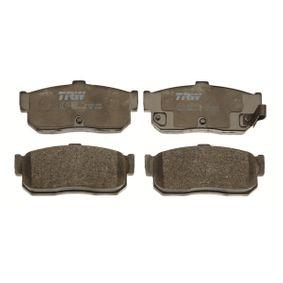 Bremsbelagsatz, Scheibenbremse Höhe: 46,8mm, Dicke/Stärke: 16,3mm mit OEM-Nummer 44060-4U090