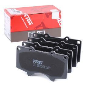 Bremsbelagsatz, Scheibenbremse Höhe: 77,1mm, Dicke/Stärke: 17mm mit OEM-Nummer 0446535290