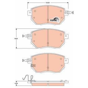 Bremsbelagsatz, Scheibenbremse Art. Nr. GDB3416 120,00€