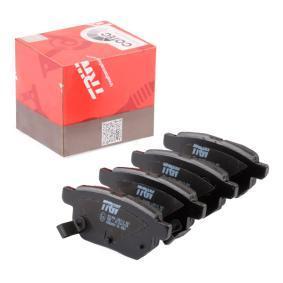 Brake Pad Set, disc brake Article № GDB3454 £ 140,00