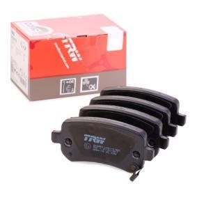 Bremsbelagsatz, Scheibenbremse Höhe: 52,8mm, Dicke/Stärke: 16,8mm mit OEM-Nummer 6 8029 887AA