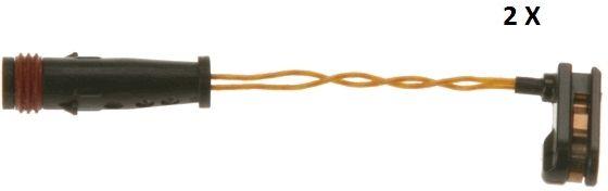 TRW  GIC253 Contacto de aviso, desgaste de los frenos Long. contacto de aviso: 95mm