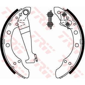 Bremsbackensatz Breite: 40mm mit OEM-Nummer 331 609 528 F