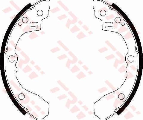 Bremsbacken GS8439 TRW GS8439 in Original Qualität