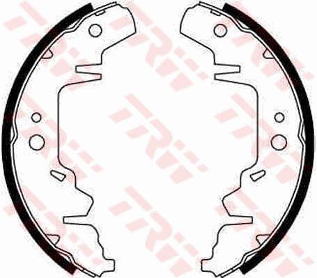 Bremsbacken GS8643 TRW GS8643 in Original Qualität