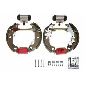 Brake Set, drum brakes GSK1771 PUNTO (188) 1.2 16V 80 MY 2000
