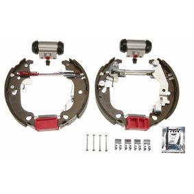Brake Set, drum brakes GSK1772 PUNTO (188) 1.2 16V 80 MY 2004
