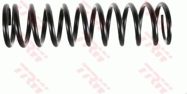 TRW  JCS254 Fahrwerksfeder Länge: 395mm, Länge: 395mm, Länge: 395mm, Dicke/Stärke: 13,75mm, Ø: 109mm