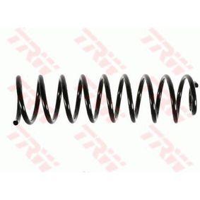Fahrwerksfeder Länge: 340mm, Dicke/Stärke: 9,5mm, Ø: 92mm mit OEM-Nummer 6K0 511 115M952