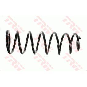 Fahrwerksfeder Länge: 413mm, Dicke/Stärke: 12,5mm, Ø: 132mm mit OEM-Nummer 5102H1