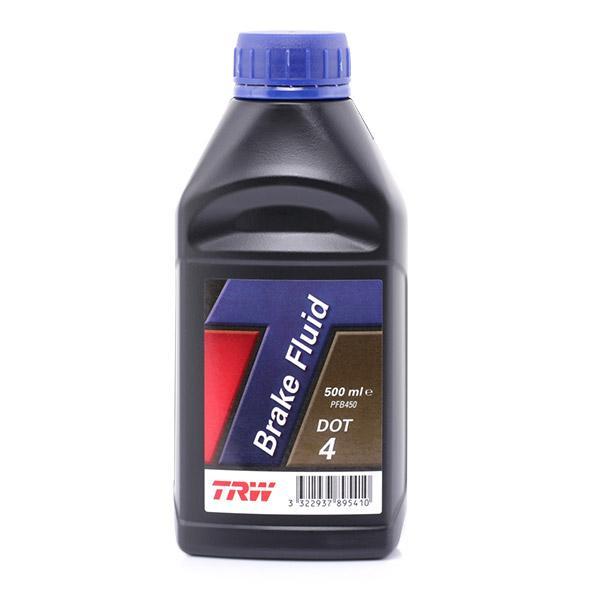 Bremsflüssigkeit TRW PFB450 Erfahrung