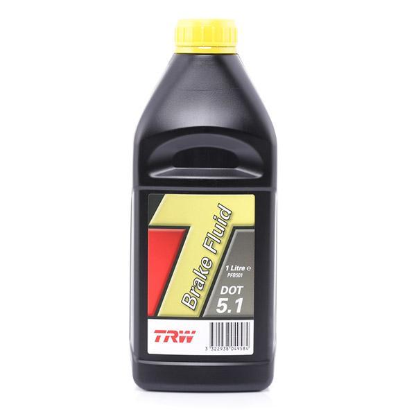 Bremsflüssigkeit TRW PFB501 Erfahrung