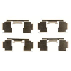 Комплект принадлежности, дискови накладки PFK397 25 Хечбек (RF) 2.0 iDT Г.П. 2000
