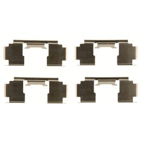 Комплект принадлежности, дискови накладки PFK397 800 (XS) 2.0 I/SI Г.П. 1993