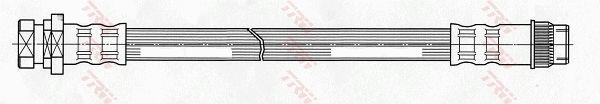 Bremsschlauch TRW PHA434 Bewertung