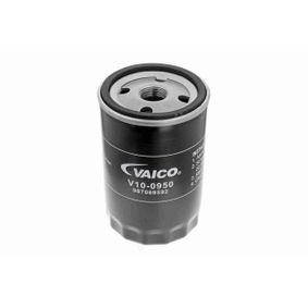 VAICO Ölfilter V10-0950 für AUDI 100 (44, 44Q, C3) 1.8 ab Baujahr 02.1986, 88 PS