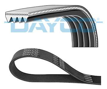 Dayco Poly V-Cintura a costine 7pk1595 7 nervature 1595mm Ventola Ausiliaria Alternatore