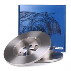 Turboladerdichtung für VW TOURAN (1T1, 1T2) 1.9 TDI 105 PS ab Baujahr 08.2003 VAICO Bremsscheibe (V10-40070) für