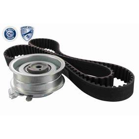 Zahnriemensatz für VW GOLF IV (1J1) 1.6 100 PS ab Baujahr 08.1997 VAICO Zahnriemensatz (V10-4177) für